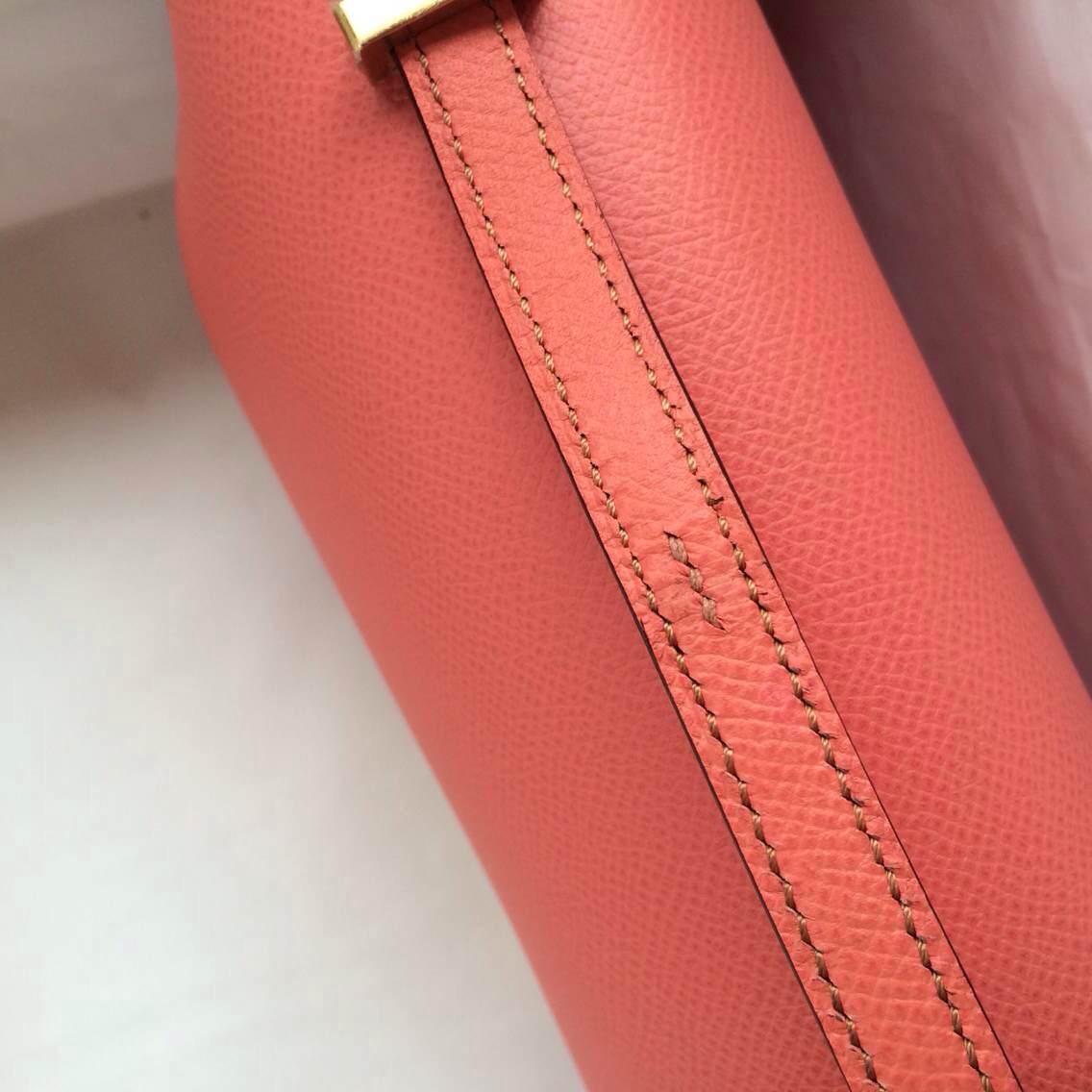 Pretty i5 Flamingo France Epsom Leather Constance elan Bag Womens' Shoulder Bag