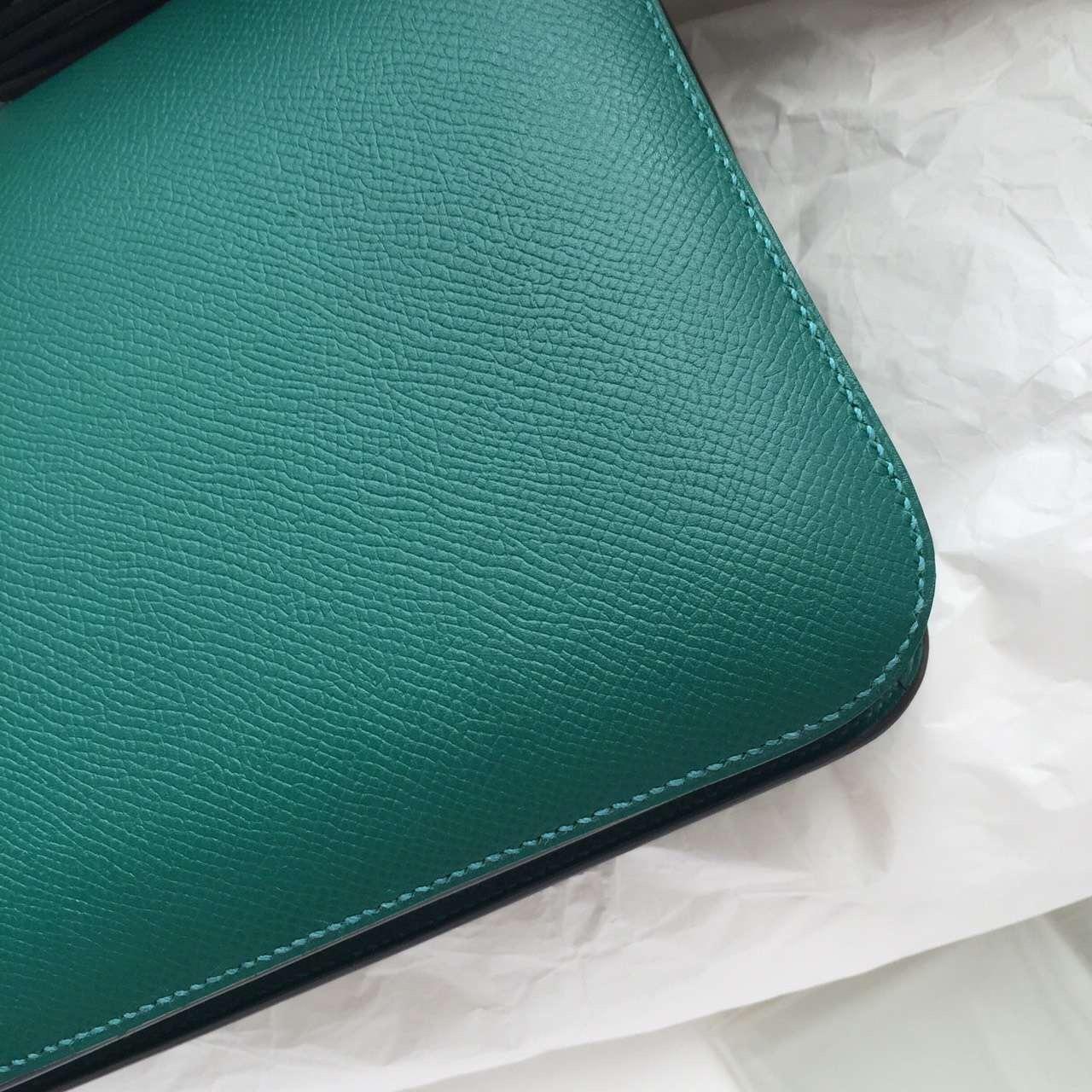 Cheap Z6 Malachite Epsom Leather Hermes Constance Bag Cross-body Bag 26CM