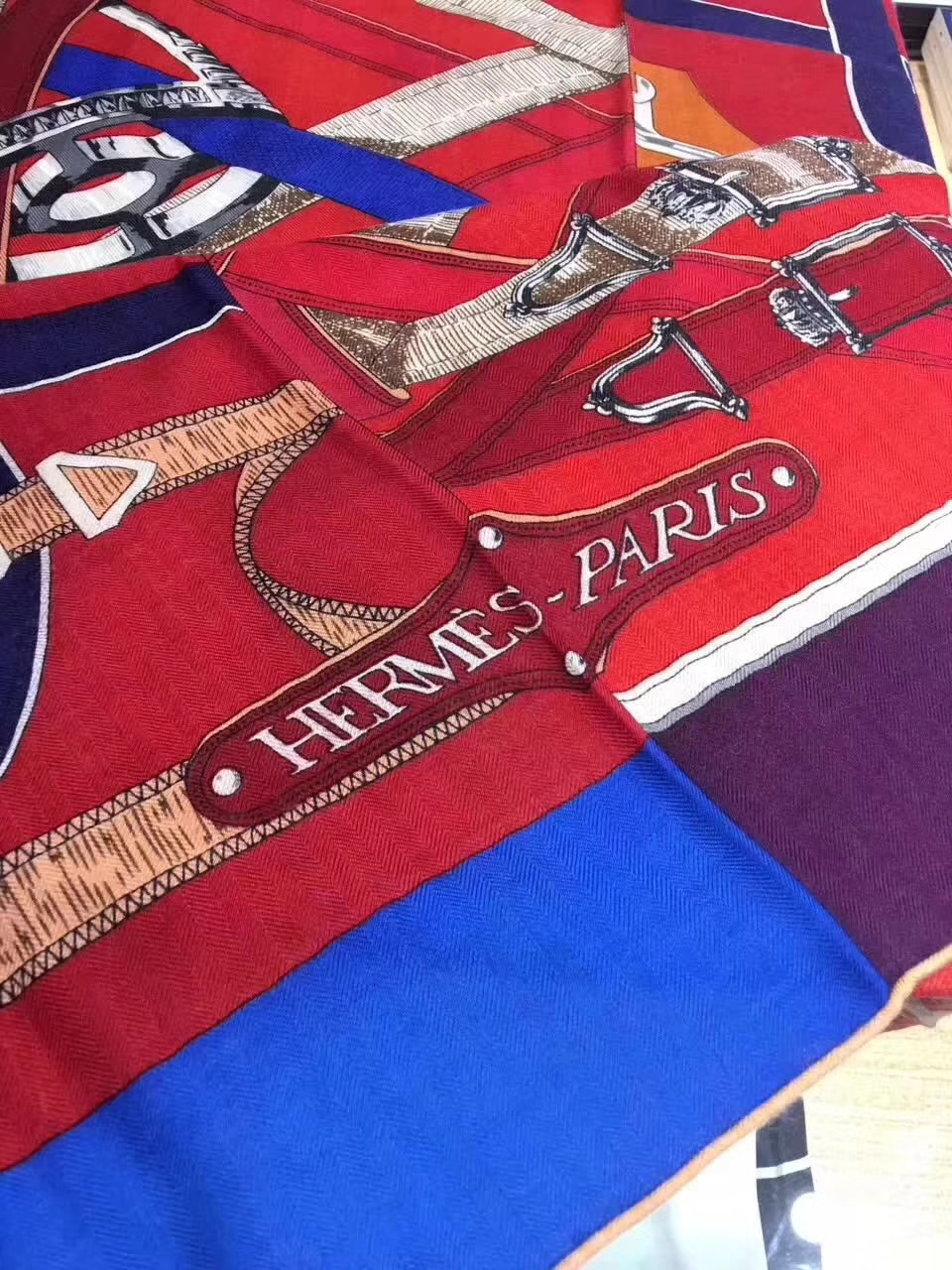 On Sale Hermes Scarf Grade-A Cashmere Women's Cape140*140cm