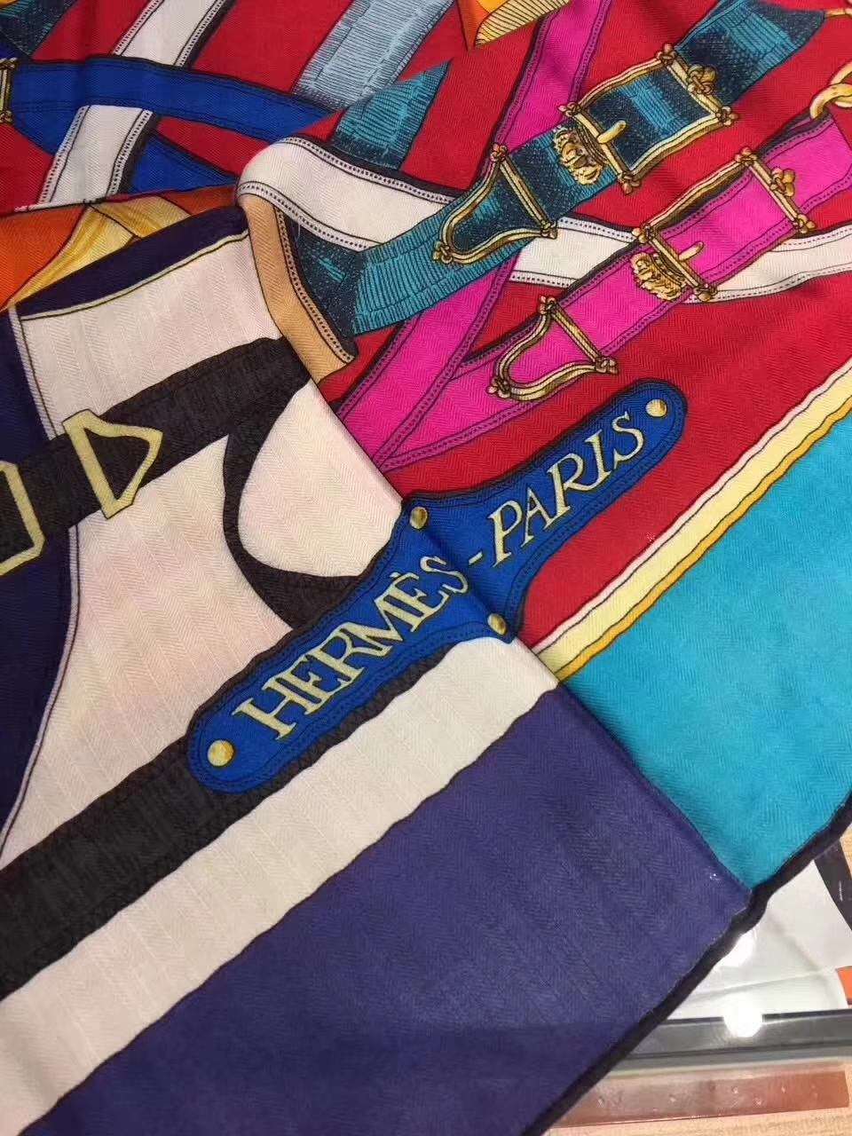 Fashion Hermes Grade-A Cashmere Women's Scarf Cape Complete Package