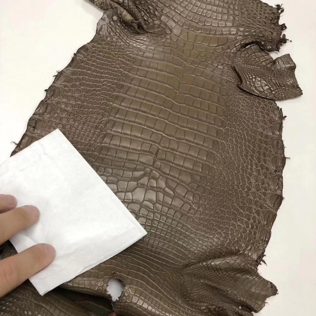 Hermes M1 Oregano Alligator Matt CrocodileLeather Can Order Minikelly Bag