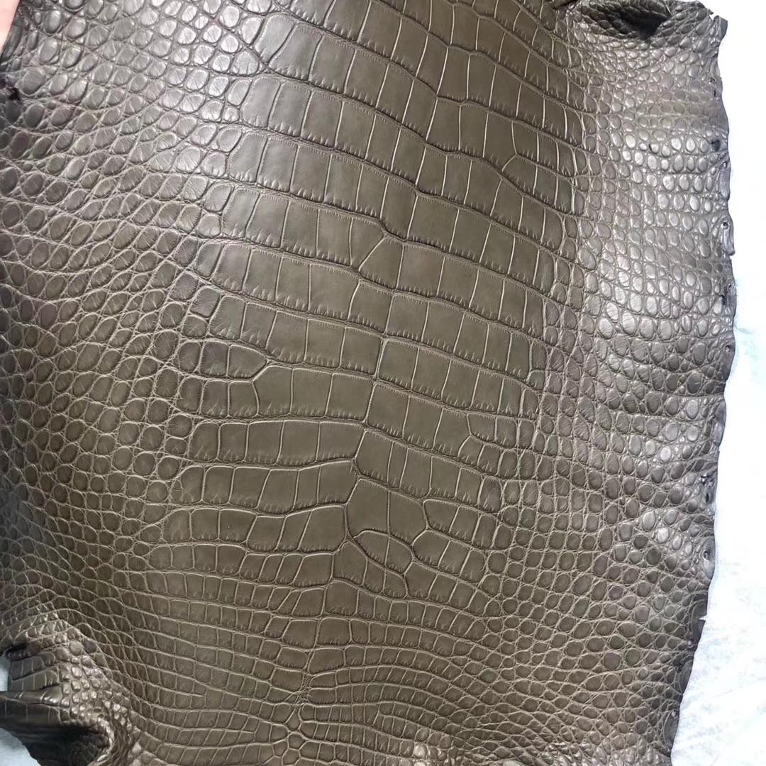 Hermes M1 Oregano Alligator Matt CrocodileLeather Can Order Birkin25cm/Kelly25CM