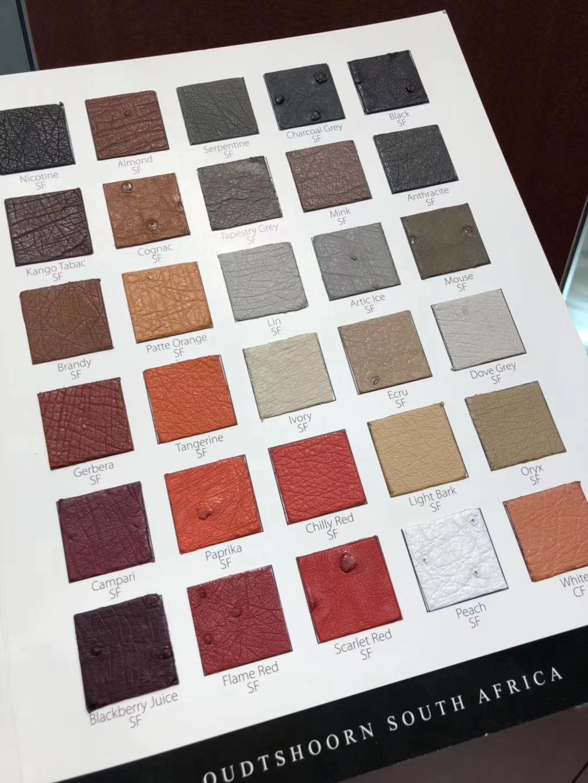 Custimize Hermes Bags Multi-color KK OstrichLeather Can Order Birkin/Kelly Bag