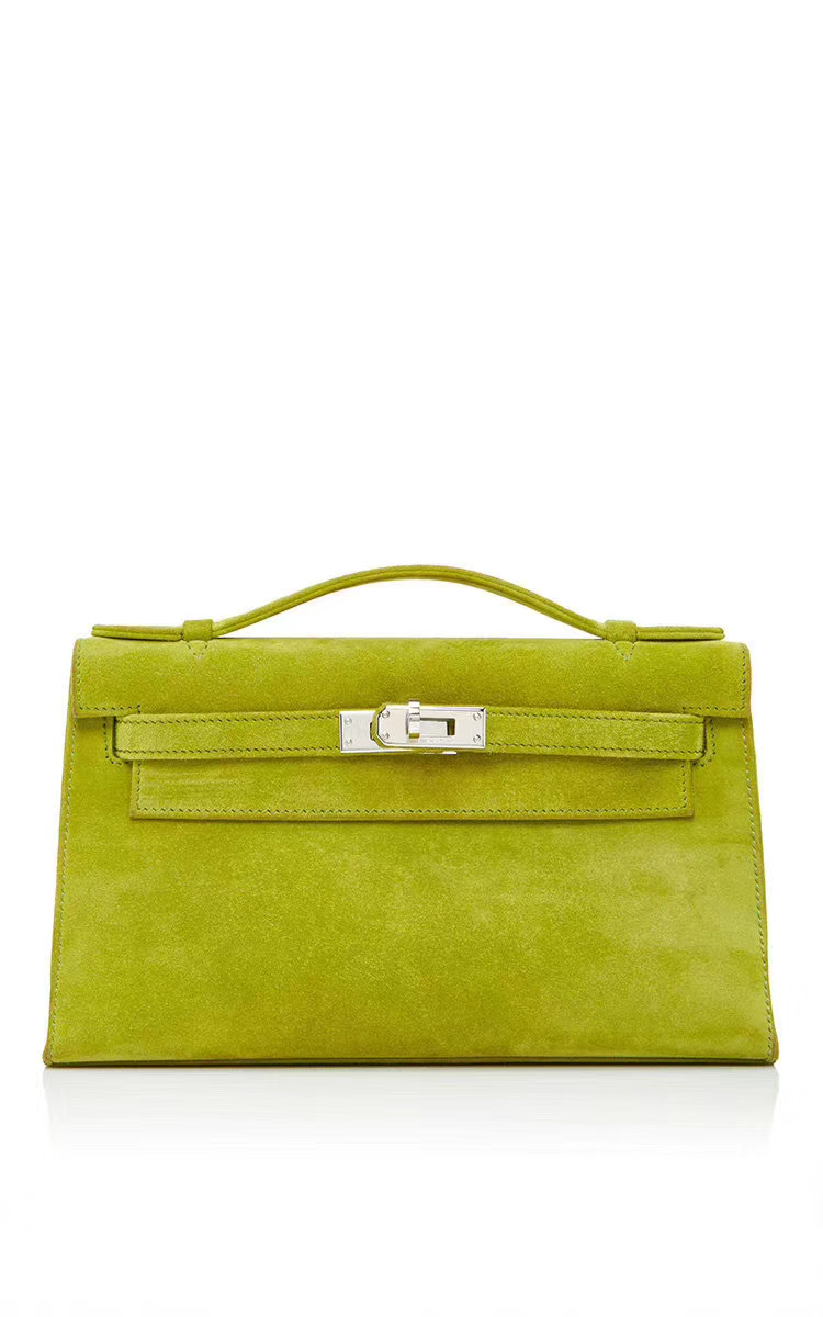 New Hermes Kiwi Doblis SuedeLeather Hermes Minikelly Bags Customize Order