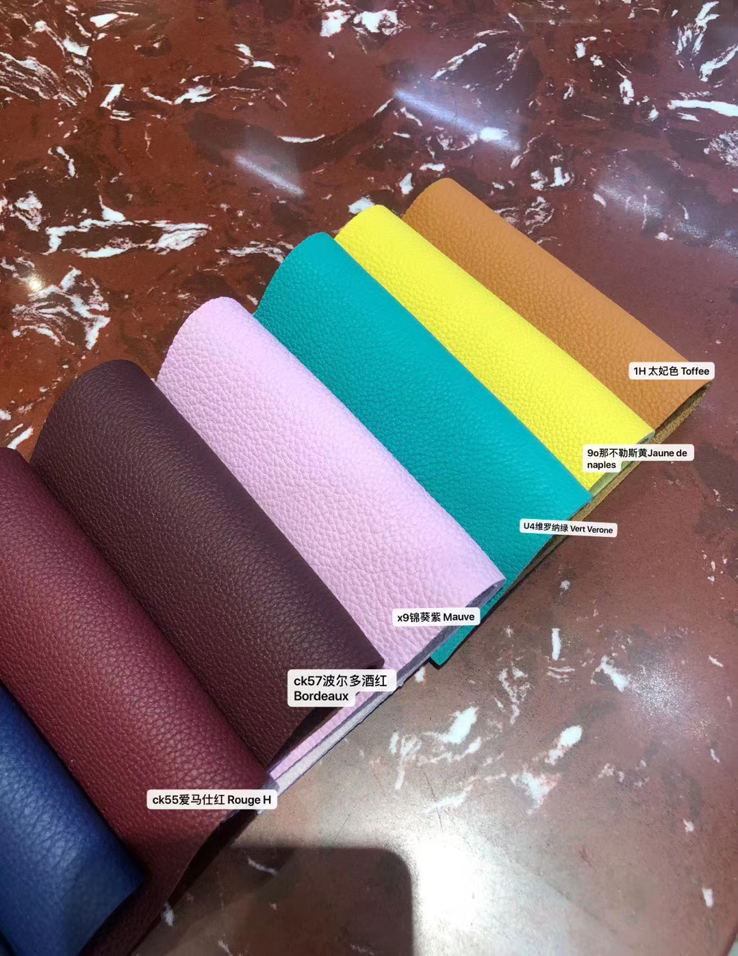 New Arrival Hermes New Multi-color Togo Calf Leather Hermes Bags Customize