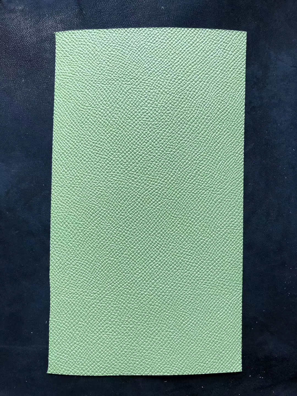 Hermes 2020 Spring New Color 3I Vert Criquet & T0 Blue Haze Epsom Calf Leather
