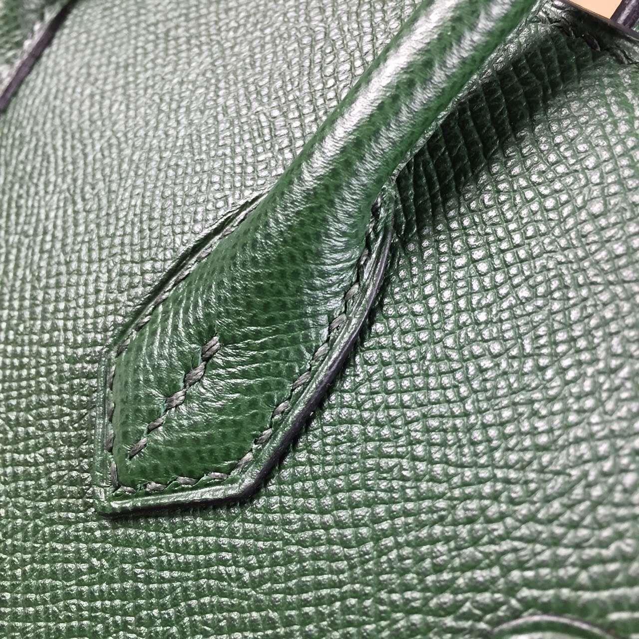 Wholesale Hermes Birkin25CM France Epsom Calfskin Leather in 2Q English Green