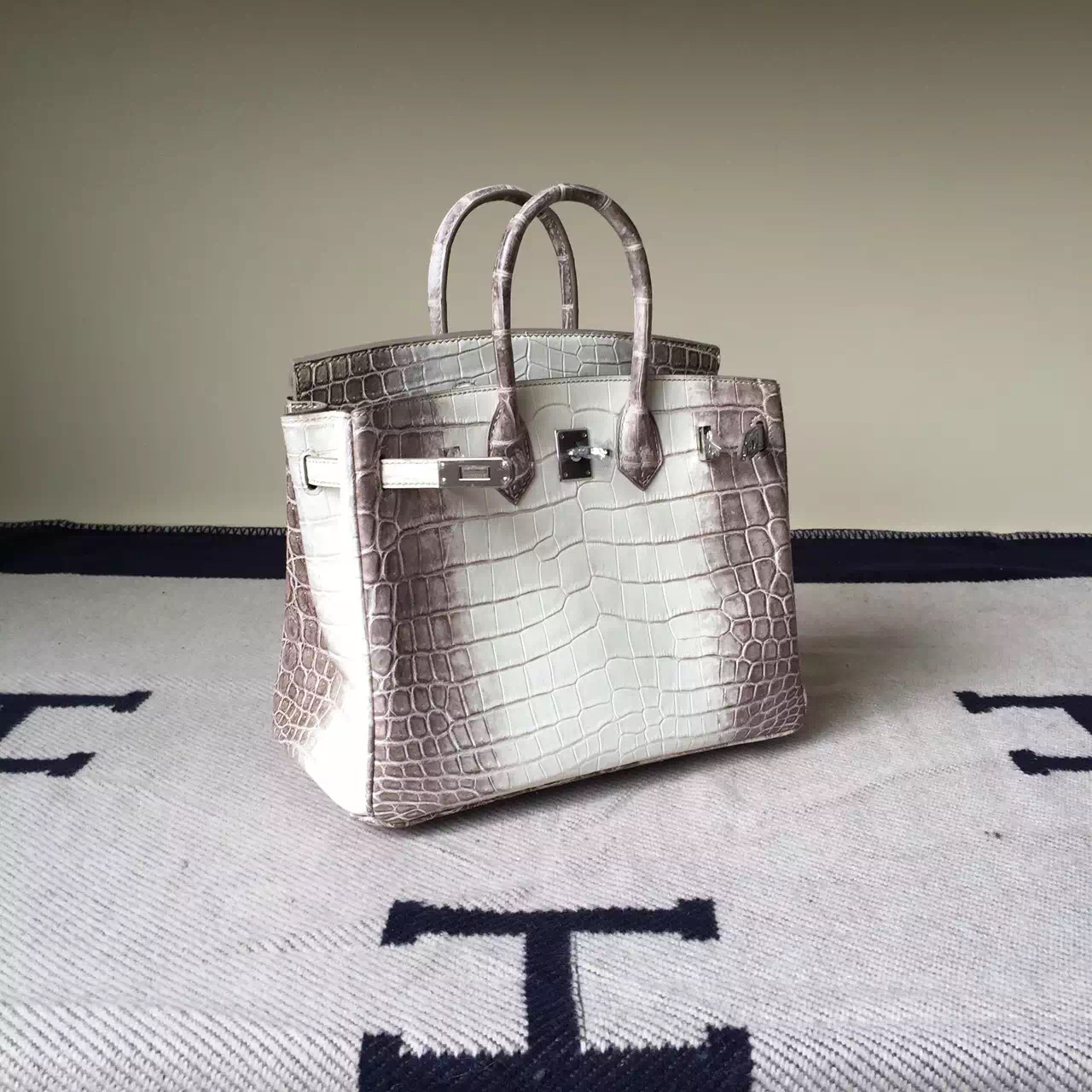 Cheap Hermes Himalaya Crocodile Leather Birkin Bag 25cm