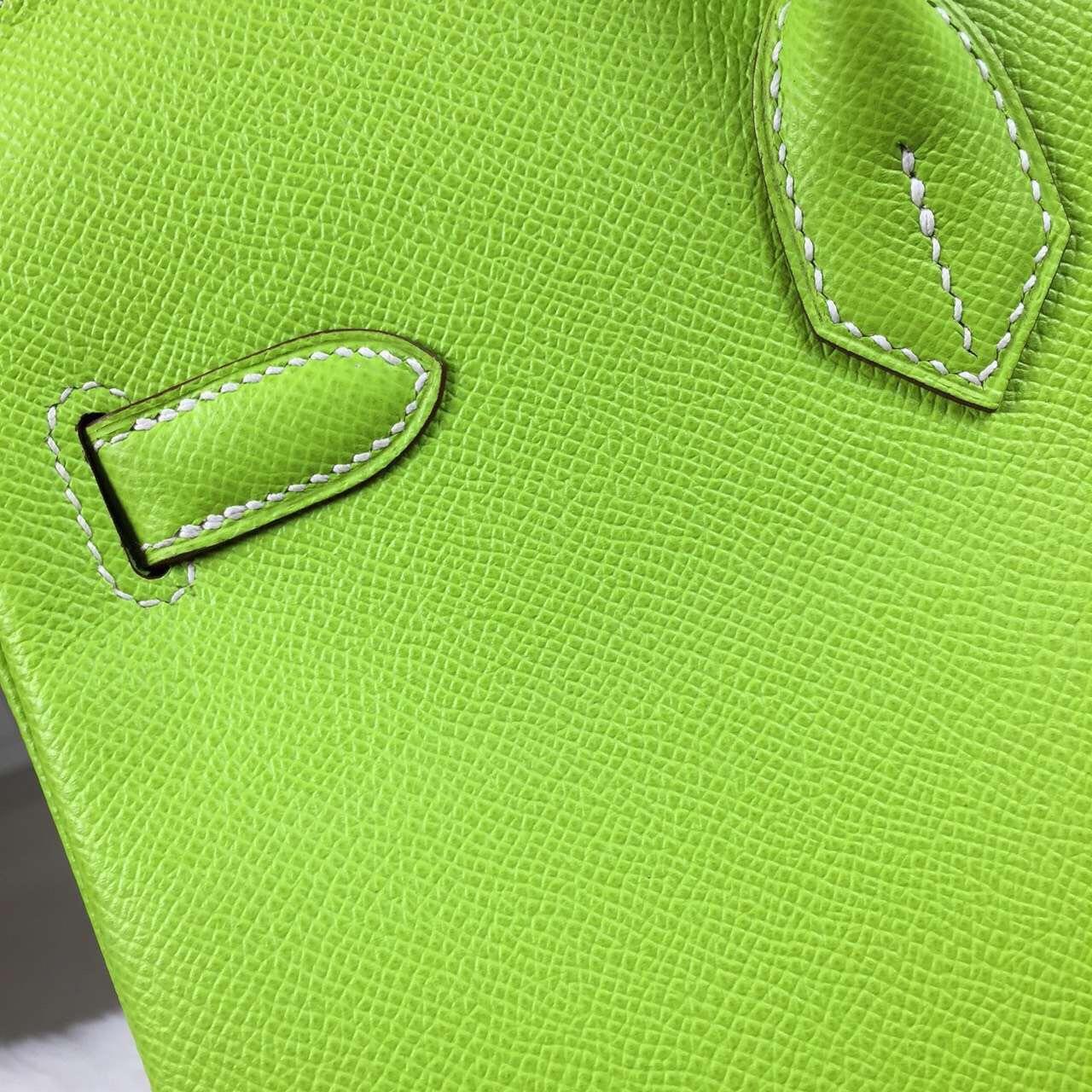 Wholesale Hermes Birkin Bag35cm Epsom Calfskin Leather in Kiwi Green