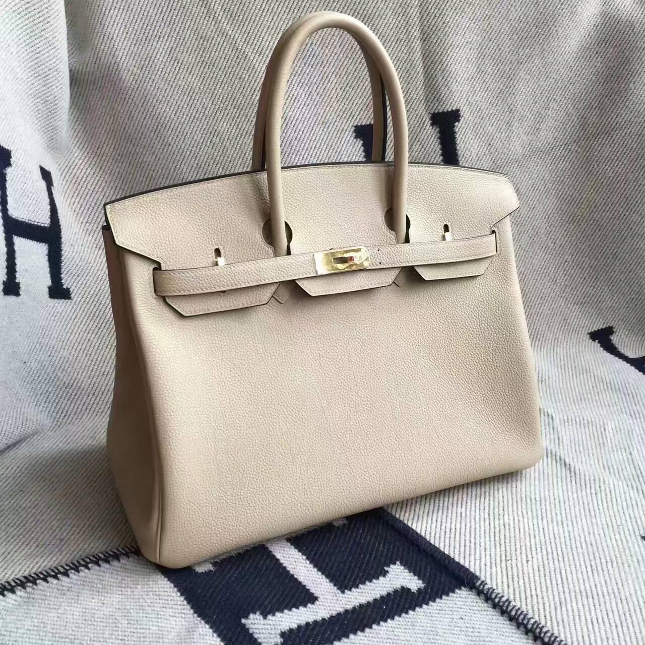 Online Shopping Hermes S2 Coat Grey Togo Leather Birkin Bag 35cm
