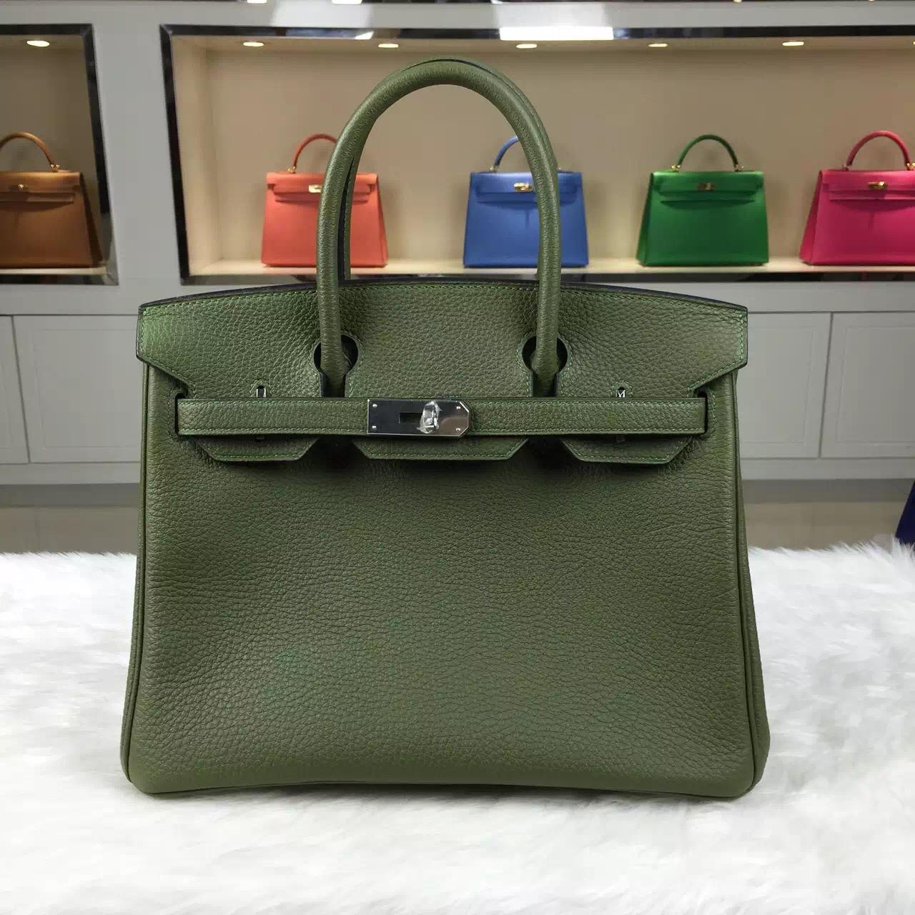 Discount Hermes Birkin Bag 30CM Multi-color France Togo Calfskin Leather Tote Bag